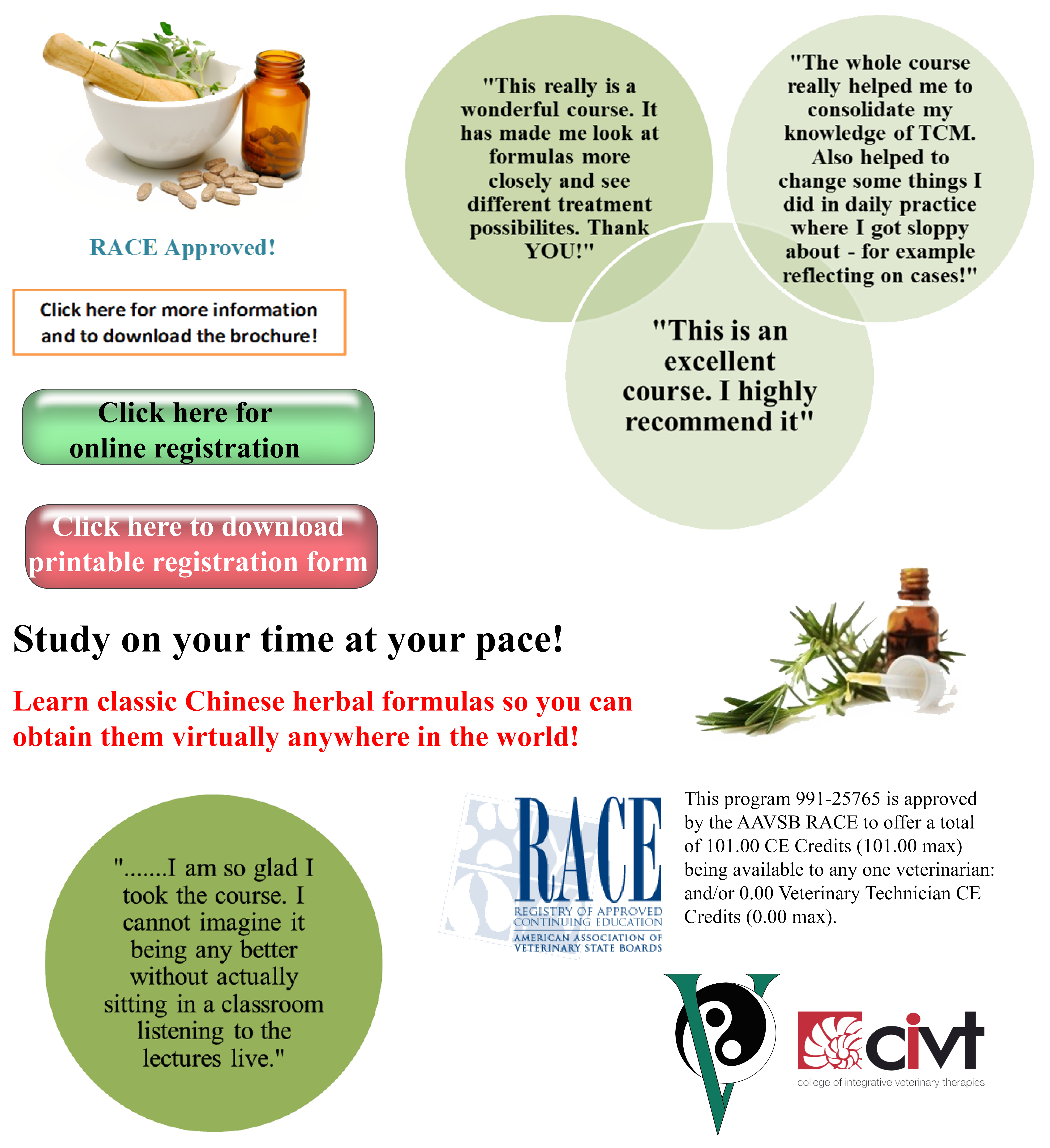 Ivas certification in veterinary chinese herbal medicine ivas ivas certification in veterinary chinese herbal medicine 1betcityfo Images